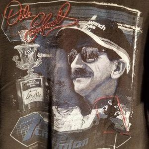 Dale Earnhardt T-Shirt Mission 7 Time Champion Lrg